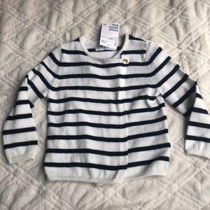 New H&M baby toddler girl 1.5-2 yr 18m cardigan